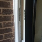 Dog bolts provide additional security and are standard on all of our composite doors.